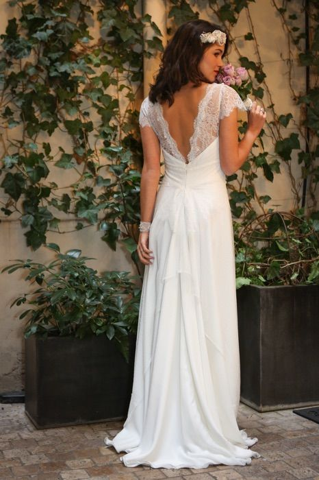 Luna - Chic et élégante   Robes de mariée