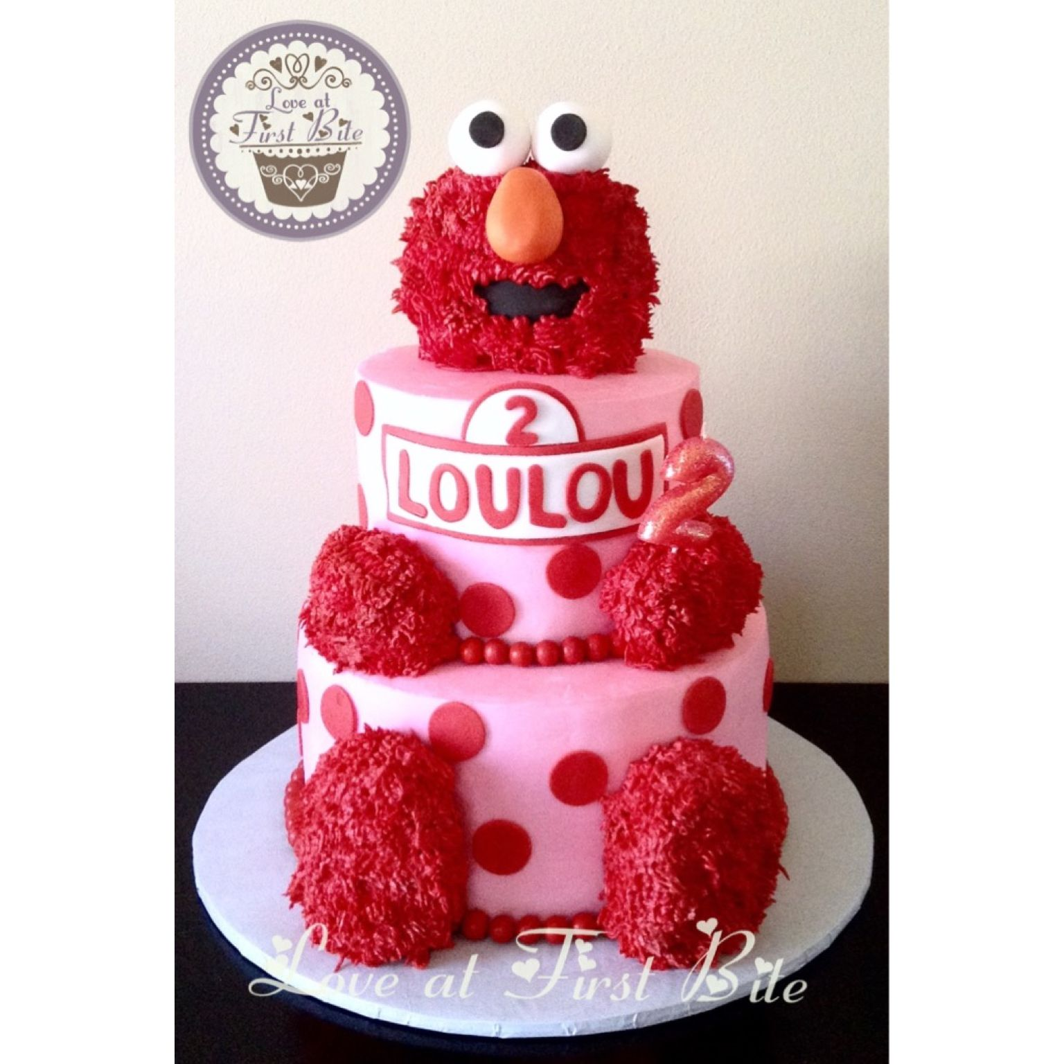 Cute Elmo Cake By Love At First Bite In Nashville TN