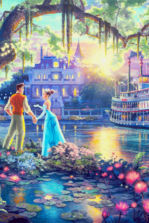 Mickey and Company — Disney Fine Art - Thomas Kinkade phone...