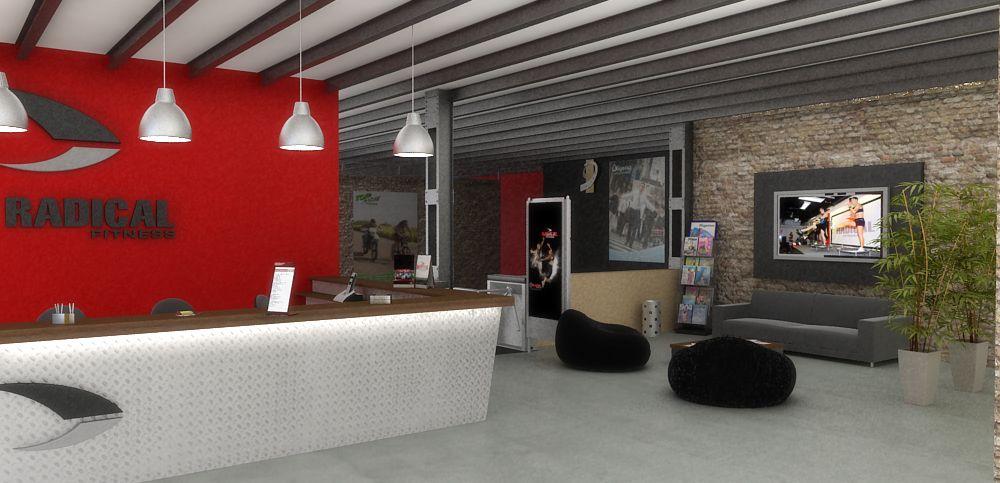 Arquitectura de local comercial. Diseño de las instalaciones, de los ...