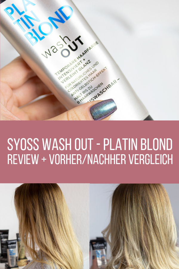 Review Syoss Wash Out Sabrinas Beauty Paradise Nageldesign Und