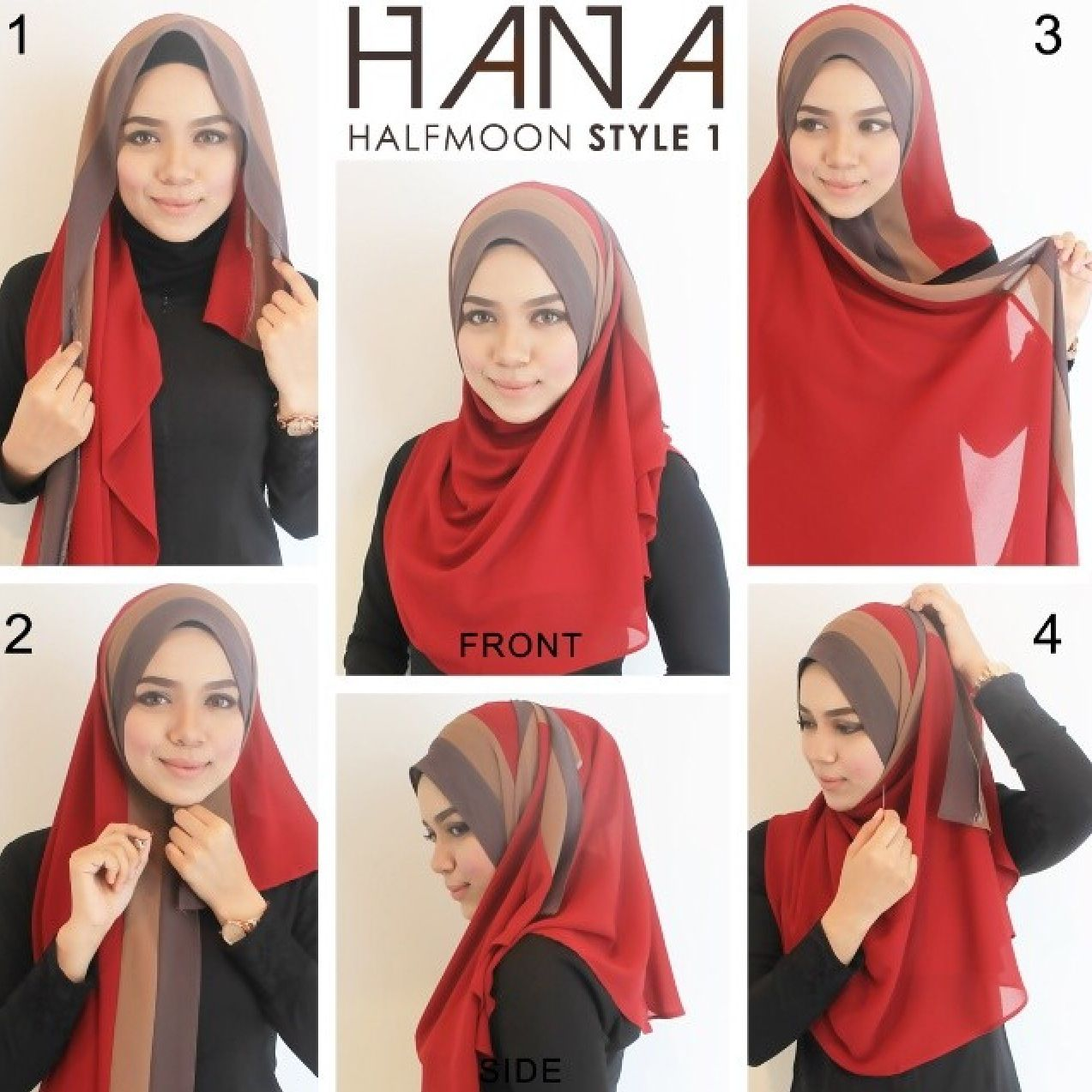 1000 Images About Hijab Style Tutorial On Pinterest Simple