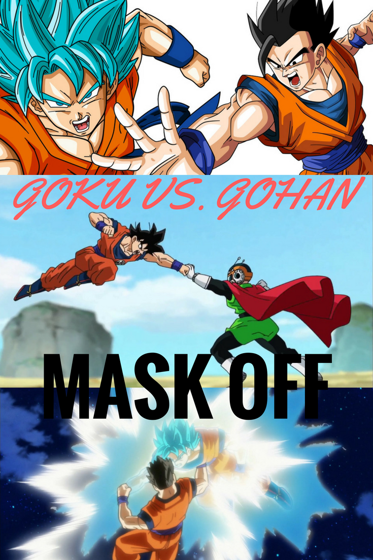New AMV Goku vs Gohan, mixed with the BEST cover of MASK