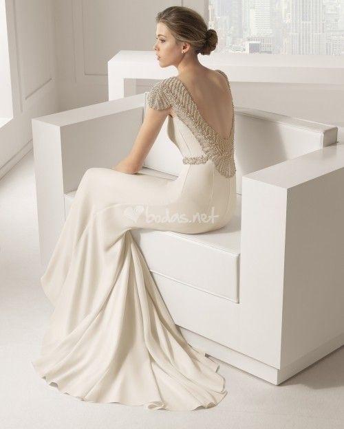 1 81105 saboya , rosa clará | romantica | vestidos de novia, boda y