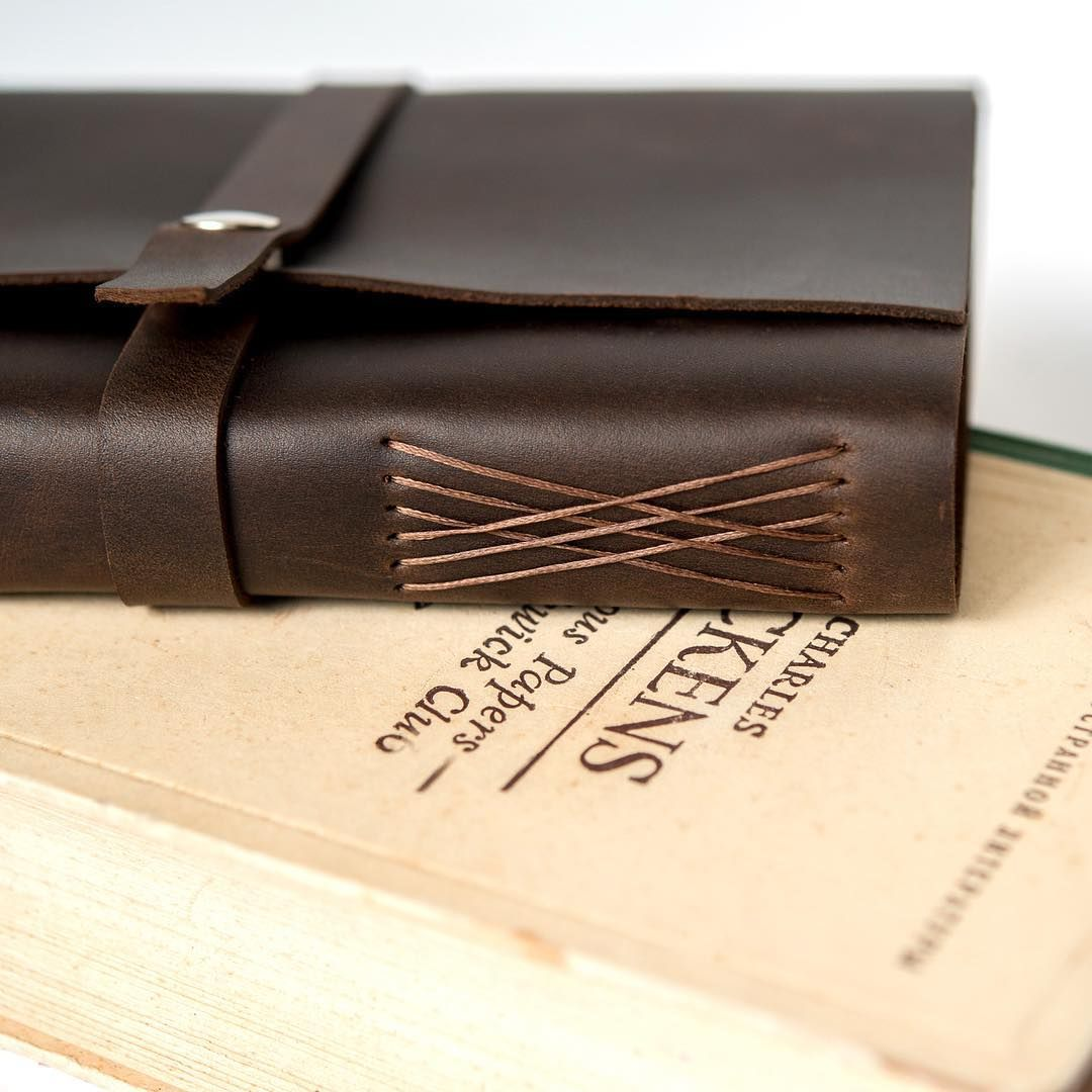 Love The Pattern On This Leather Journal Leather Book Covers Leather Bound Journal Leather Journal Diy