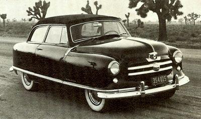 1951 Nash Rambler Country Club 1960 Rambler Custom Convertible
