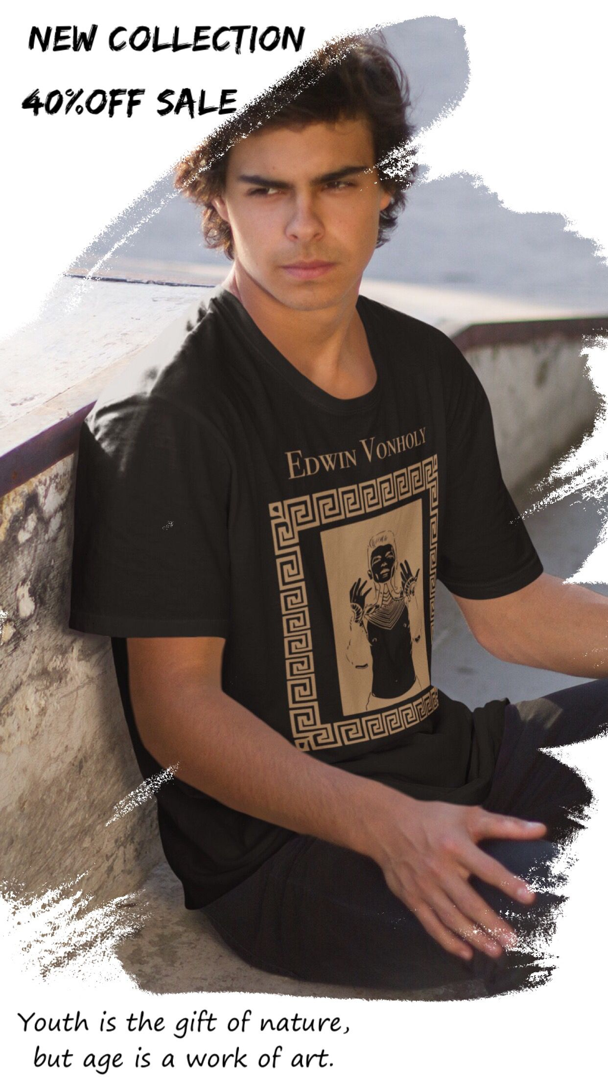 cbb7e59fbdd Streetwear fashion Short-Sleeve Unisex T-Shirt -Vintage