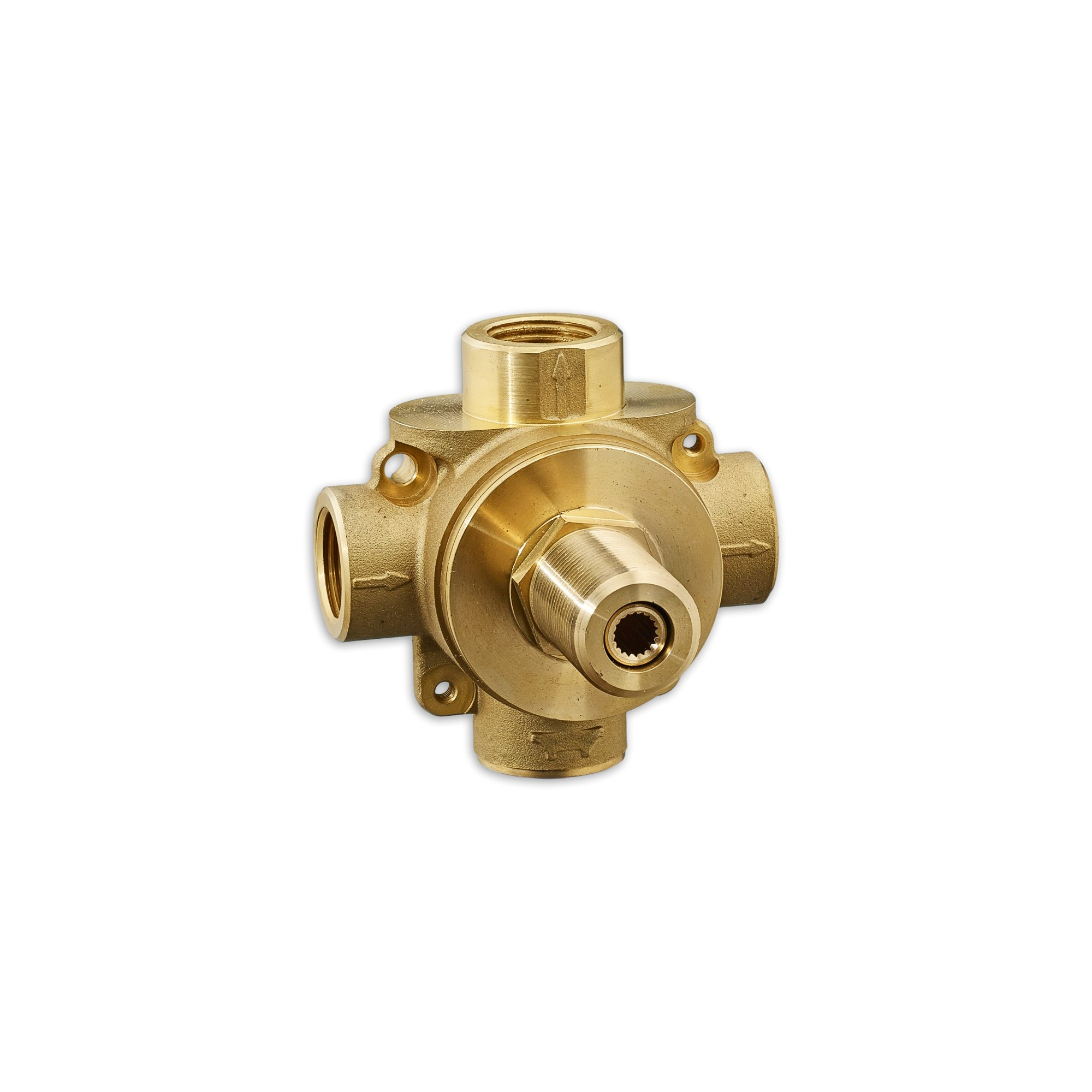 American Standard R433s 3 Way Diverter Rough In Valve With Shared