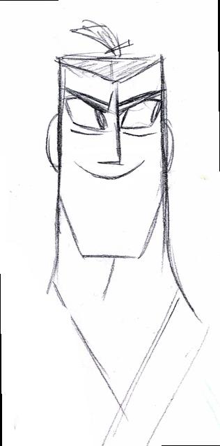 Samurai Jack. Dat smile <3