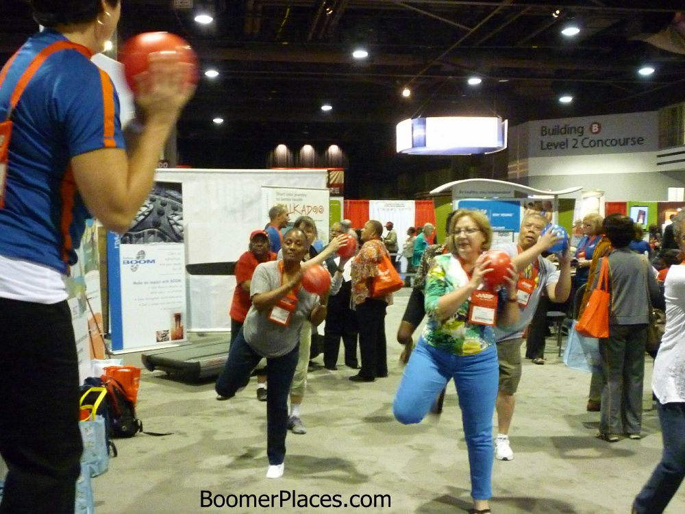 Boomers exercise at Lifeat50 | Exercise, Senior fitness ...