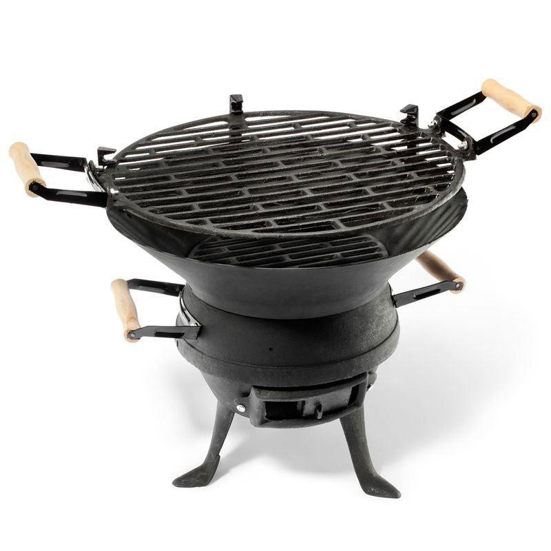 49.95€ cado pour 2 Barbecue en fonte - Un barbecue compact pour ...