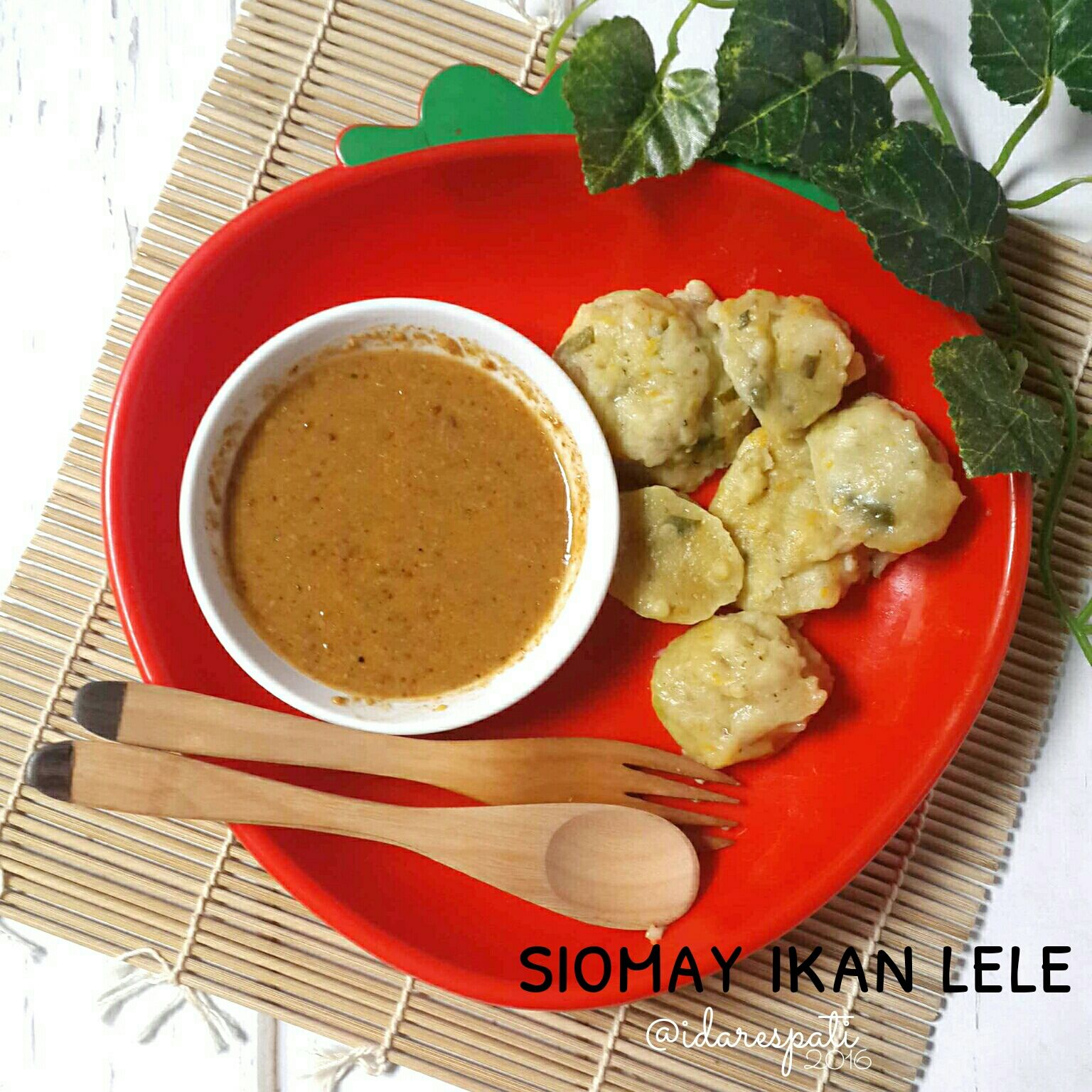 Indonesian Steamead Food Fish Siomay