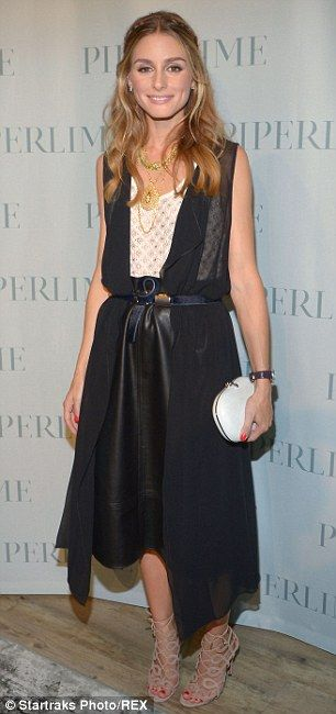 90643231e08 Olivia Palermo packs in more shows as she races around NY Fashion ...