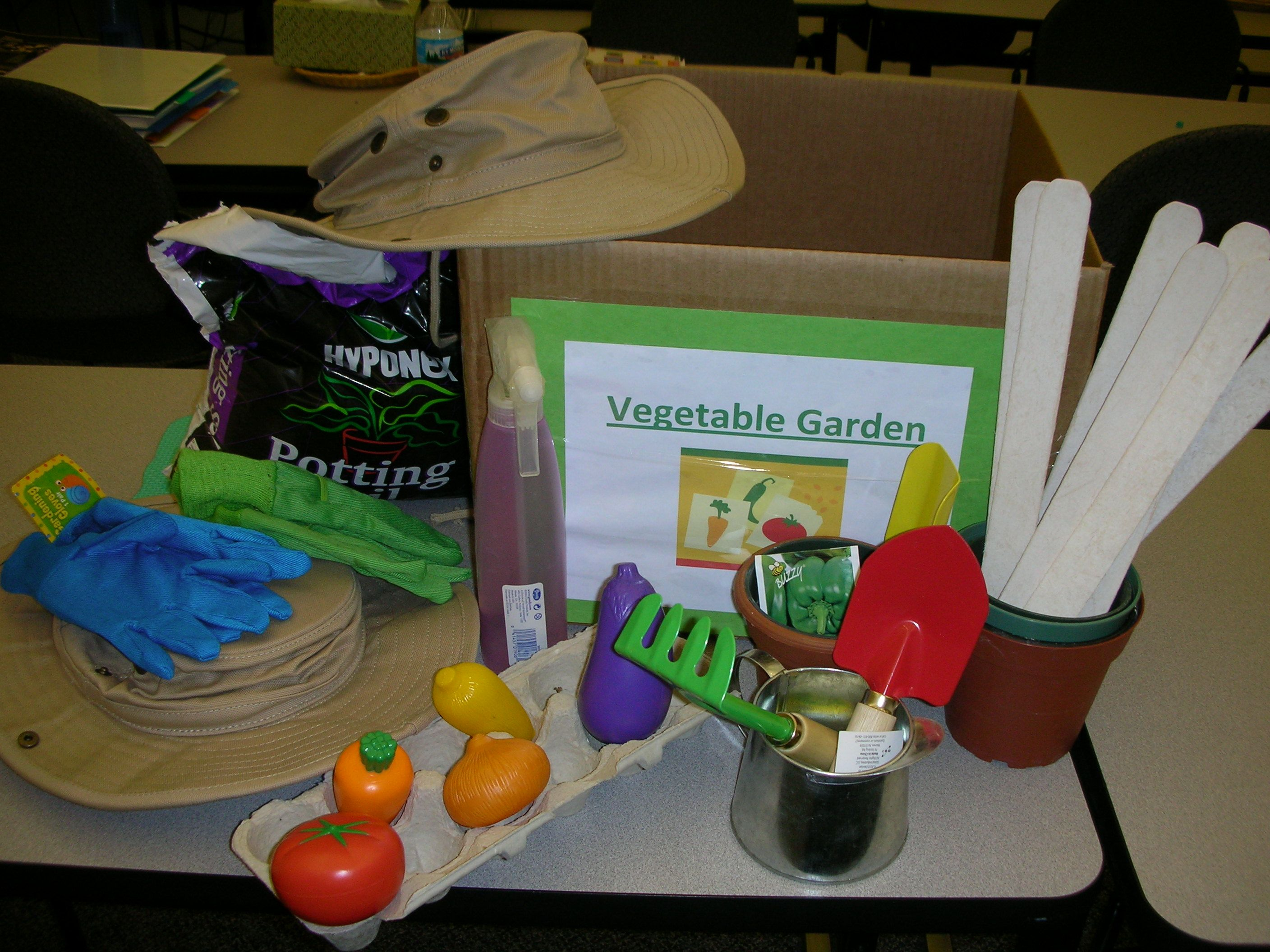 Early Childhood And Youth Development Dramatic Play Prop Boxes Gardening