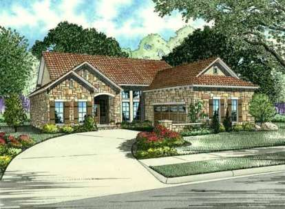 Cottage House Plan 963