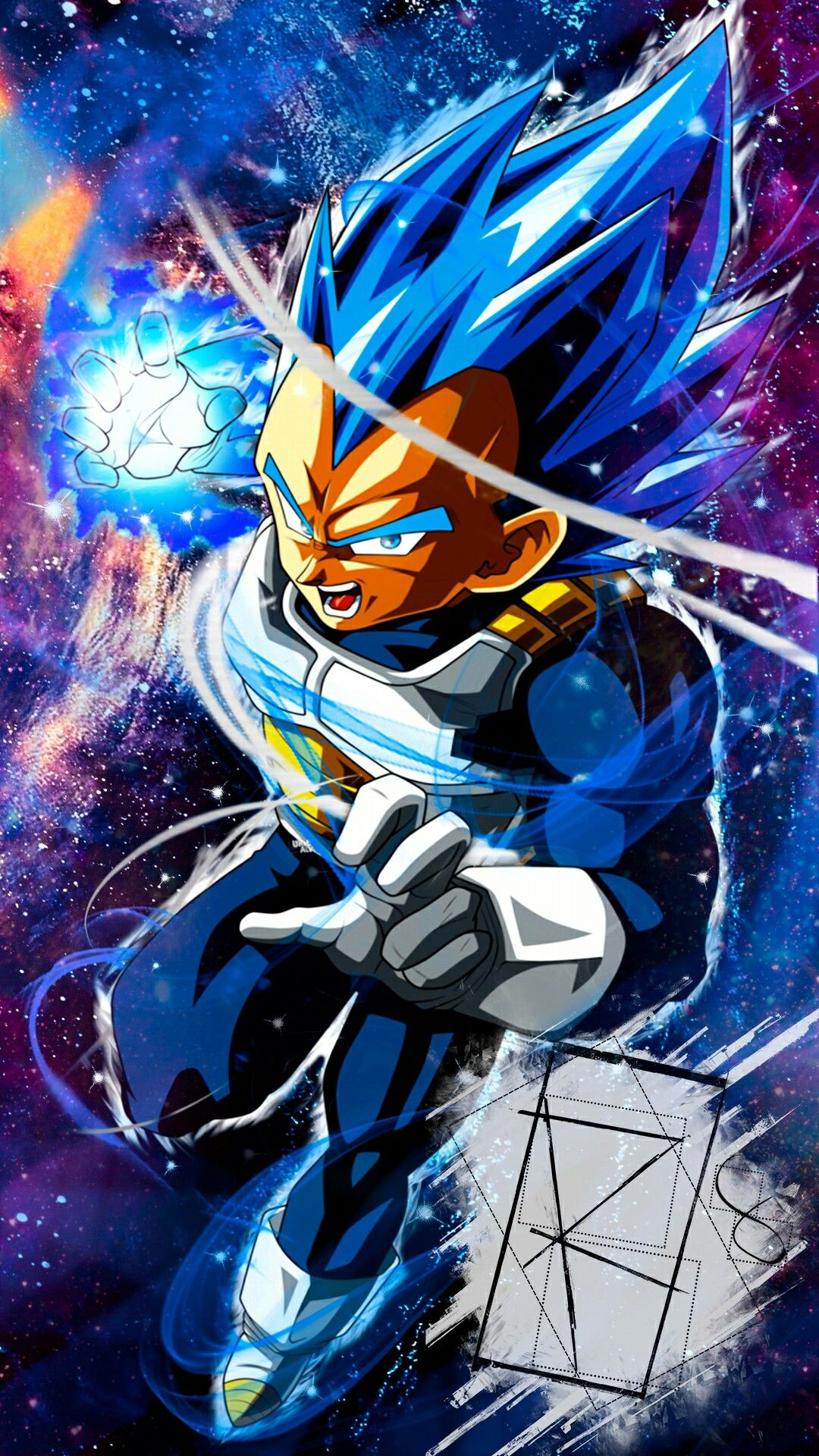 Vegeta SSJ Blue Full Power (Universo 7) | Dragón ball ...
