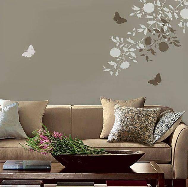 Gli Stencil Da Muro Home Decor Stencil Painting On Walls Wall E