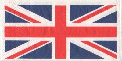 Serviette papier drapeau anglais 33 cm X 33 cm 3 plis   Art texture, Serviette papier et Drapeau