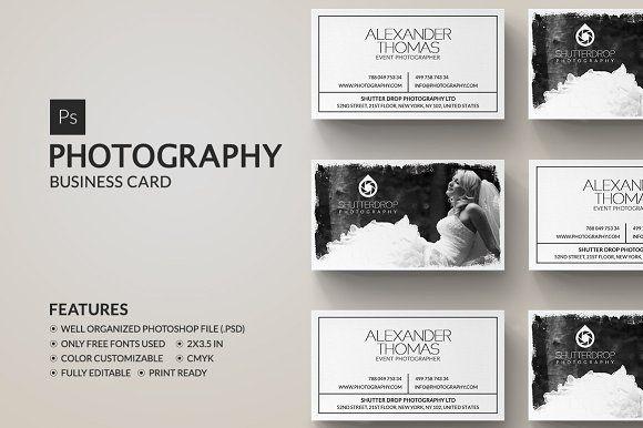 Photography Business Card Photographer Business Card Template Photography Business Cards Template Photography Business Cards