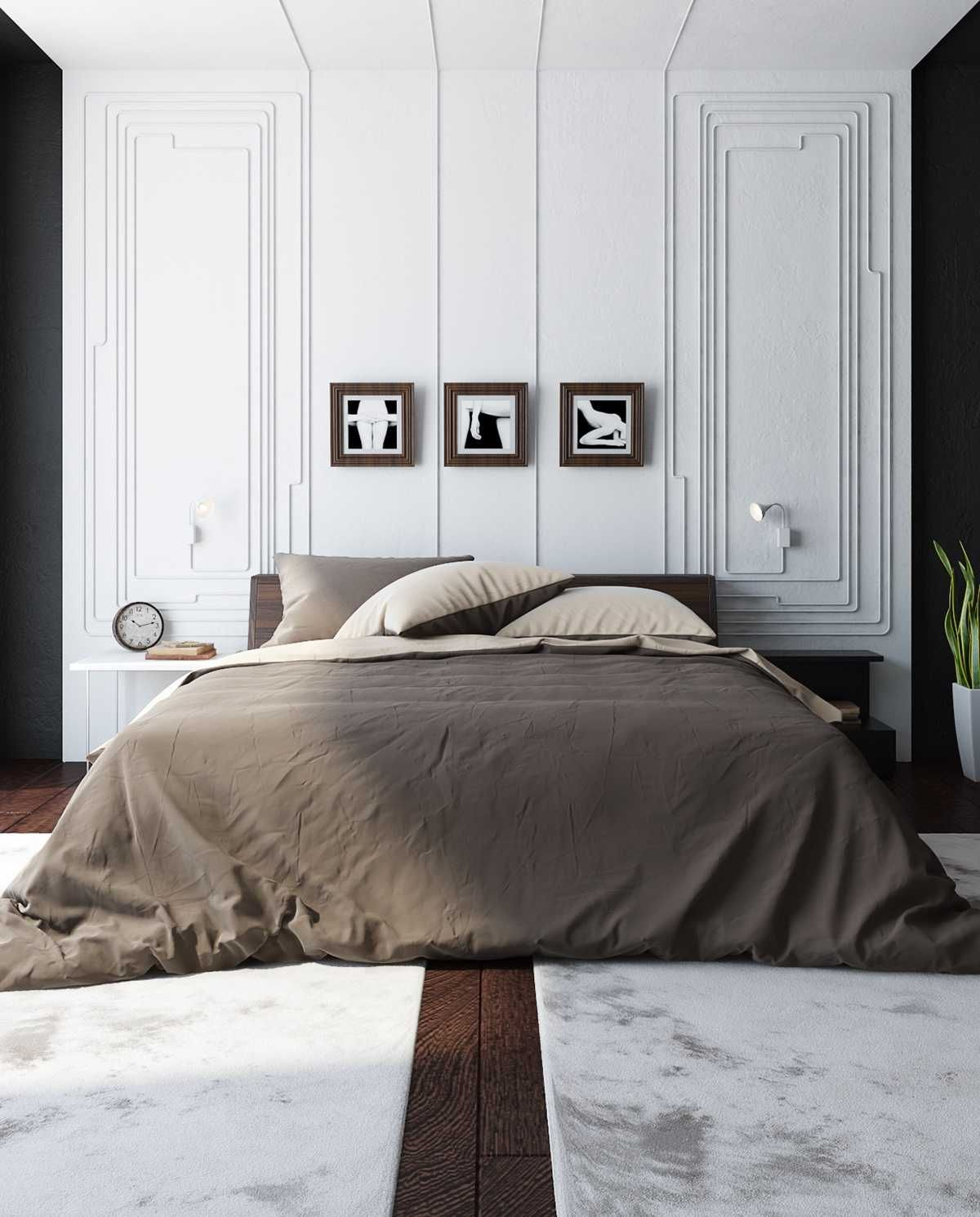 Bedroom Decorations Easy Ways Black And White Wall Decor Stunning Amp