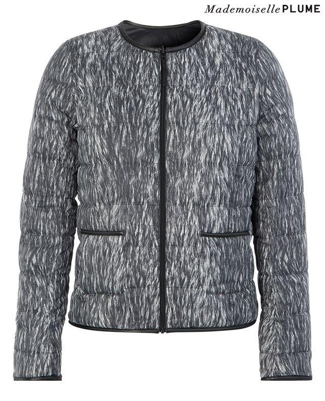 Doudoune imprimée   Blousons et manteaux   Comptoir des Cotonniers