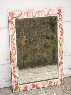 IN ARTE HASHIMOTO: Specchio personallizzato.  Check out more of our mosaic work here: inartehashimoto.blogspot.com