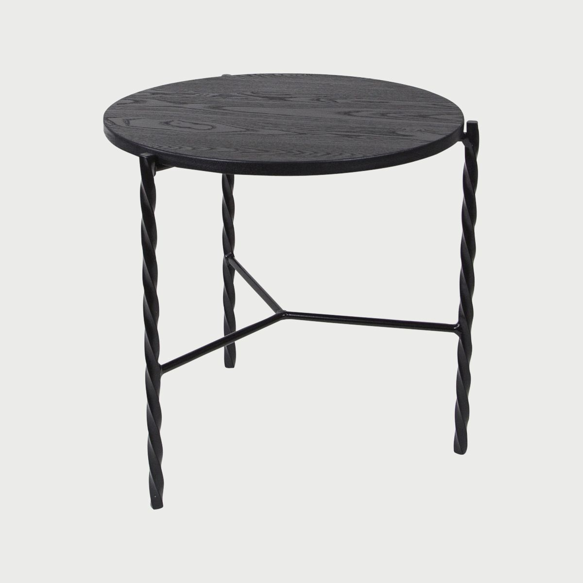 Von Iron Side Table Workof Side Table Vintage Side Table