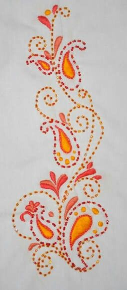 Pin By Sivaraman On Floral Patterns Embroidery Embroidery Designs