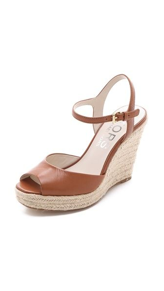 Michael Kors Valora Wedge Sandals