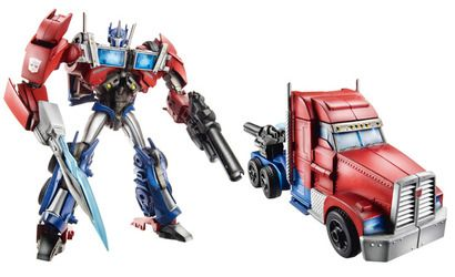 Prime First Edition Optimus Prime Roboter Spielzeug