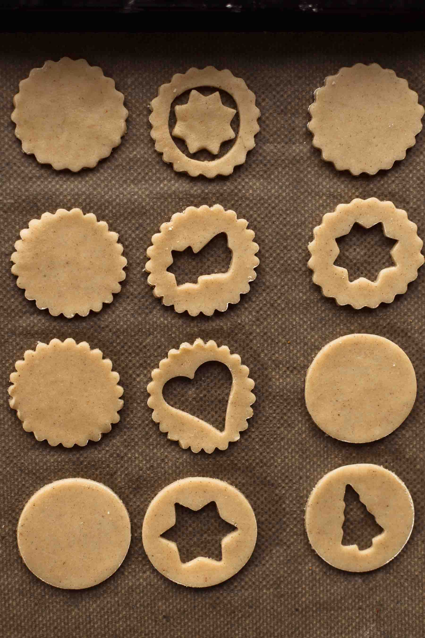 The Softest And Best Linzer Cookies