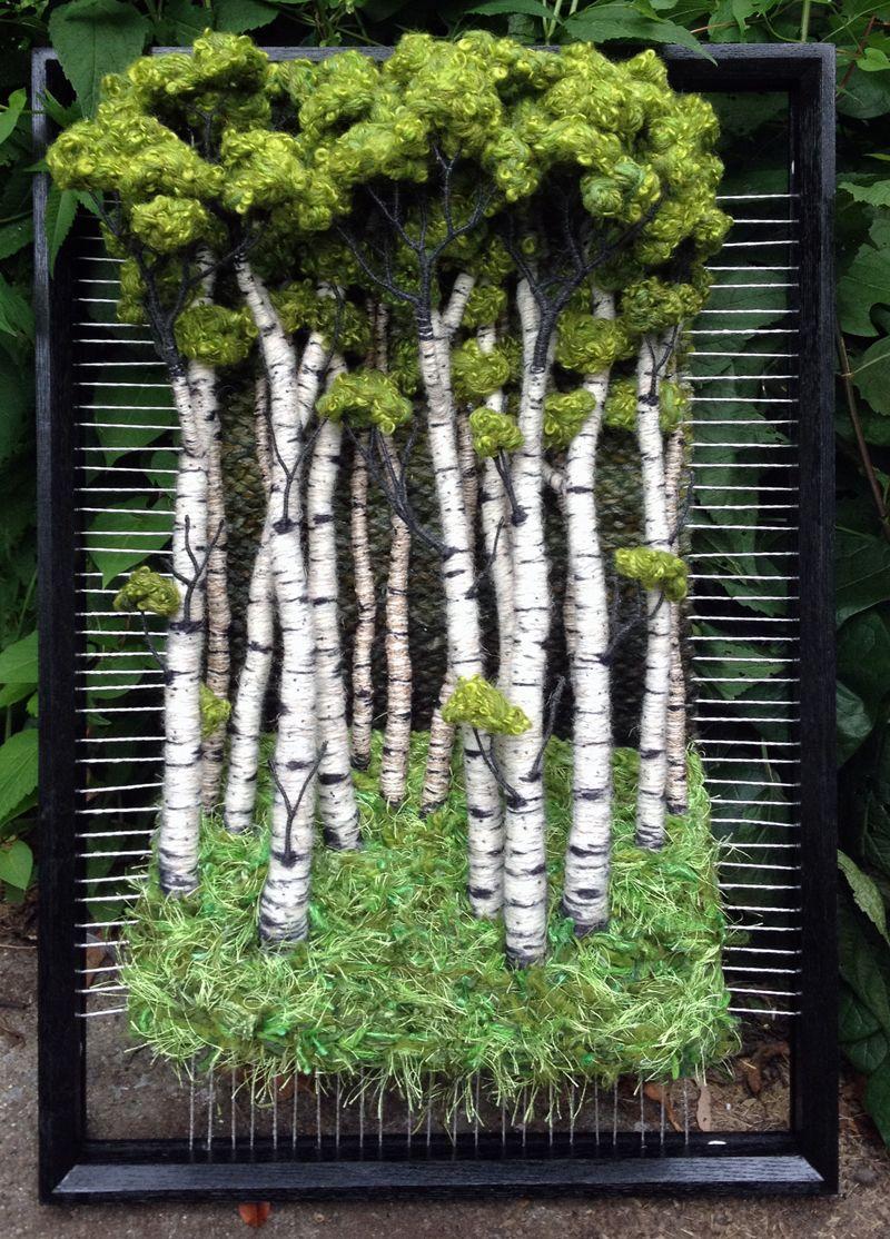 Dimensional Weaving - Martina Celerin 3d Fiber Art Fourth