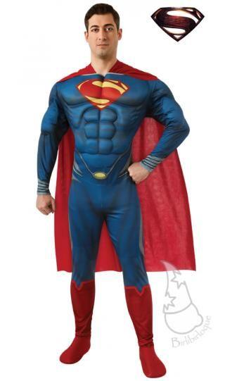 b7c8d343737 El último Disfraz de Superman Musculoso para hombres Ref. 10764   Disfraces  para hombre