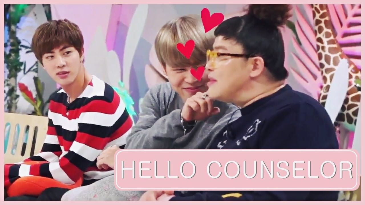 [ENG SUB] JIN AND JIMIN AT HELLO COUNSELOR PREVIEW