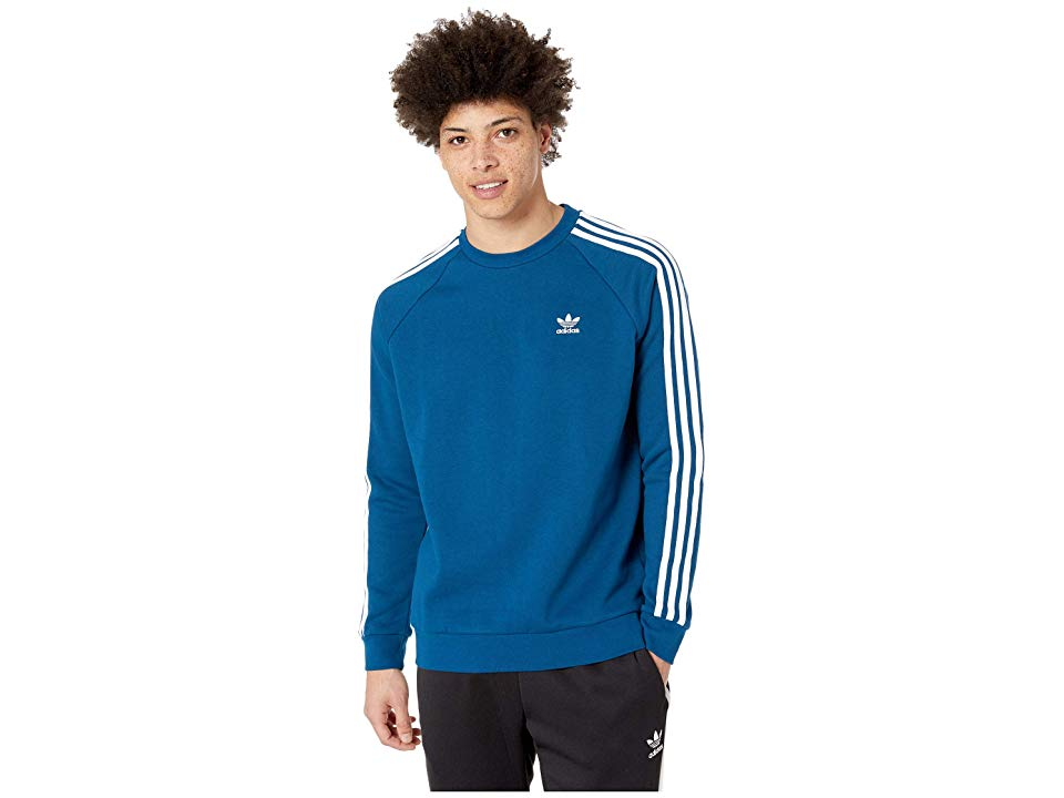 adidas Originals 3 Stripes Crew Men's Short Sleeve Pullover