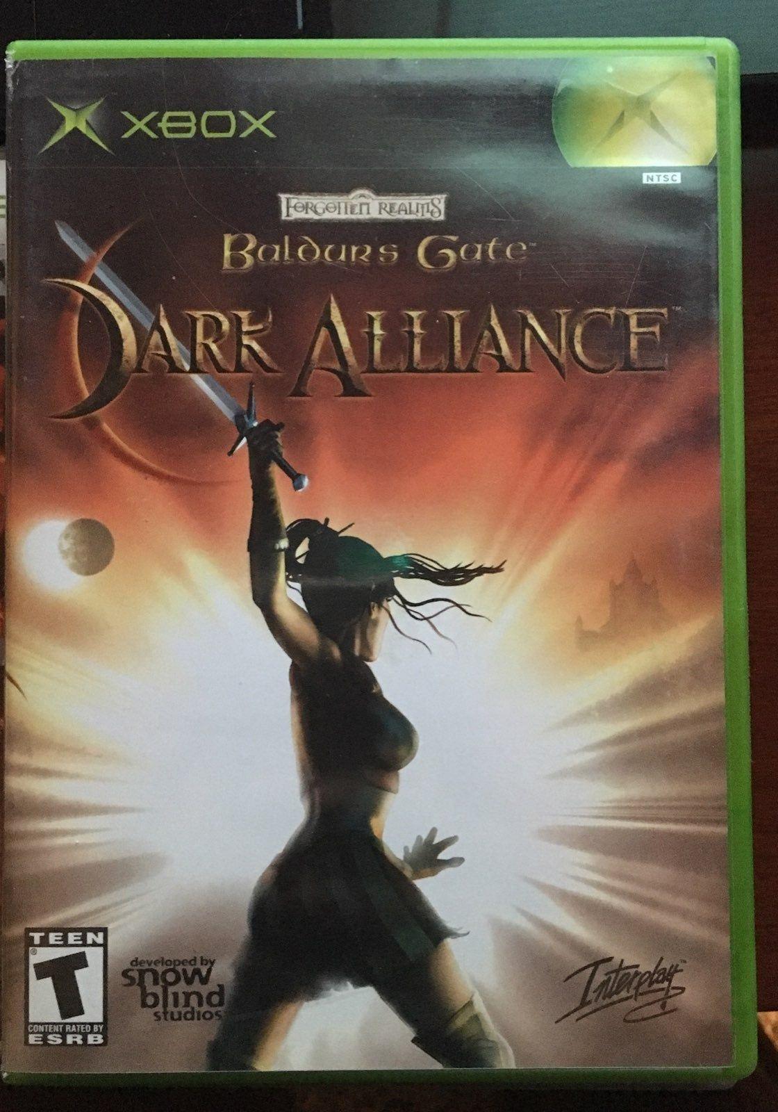 Check Out My Xbox Baldurs Gate Dark Alliance Likenew No