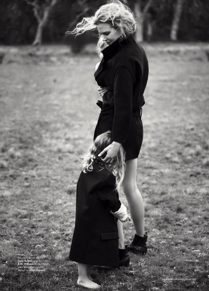 Nicole kidman and daughter.. MATERNIDAD.