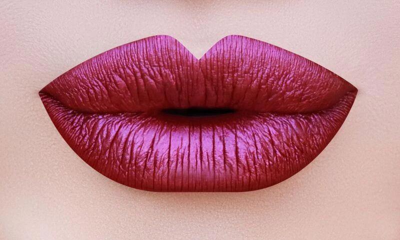 M17 Metallic Long Wear Matte Lip Gloss Raspberry The