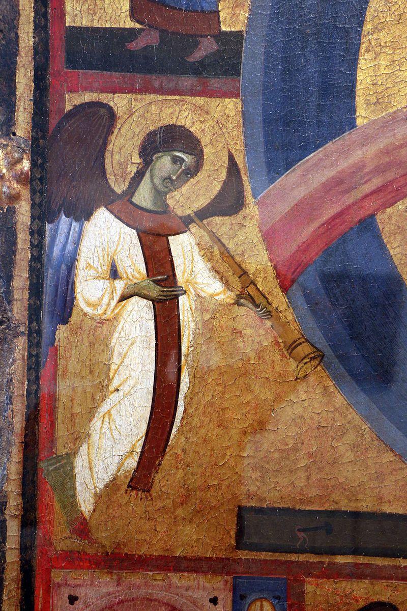 Guido da Siena e aiuti - Giudizio finale, dettaglio - 1280 circa - tempera su tavola - Grosseto, Museo archeologico e d'arte della Maremma