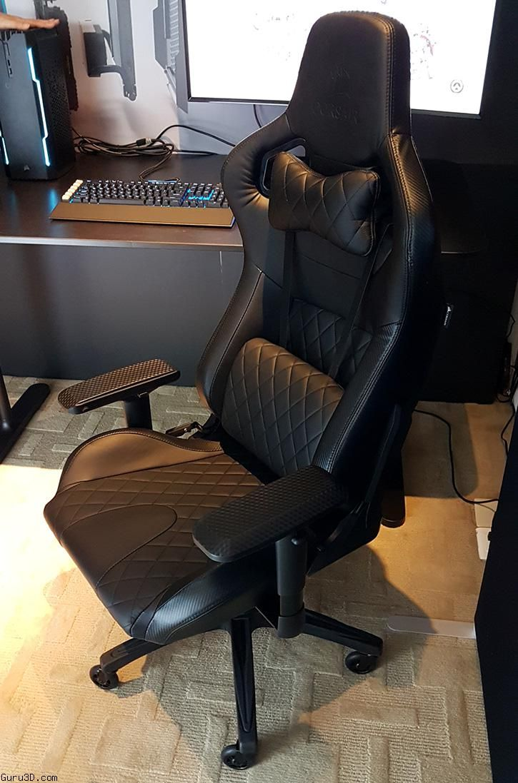 Computex 2017 Corsair Shows One And New And Gaming Chairs