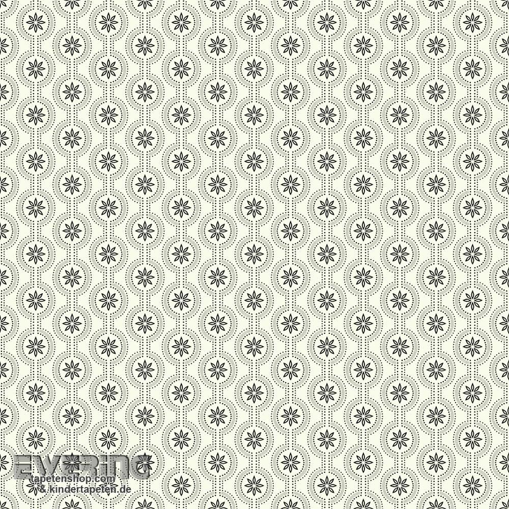 rasch textil waverly small prints 23 326627 grafik schwarz wei waverly small prints von rasch. Black Bedroom Furniture Sets. Home Design Ideas