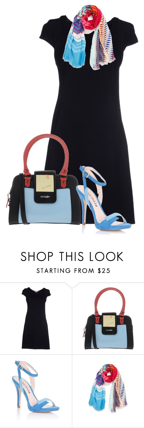 """""""baby blue accessories minimalist"""" by rvazquez ❤ liked on Polyvore featuring Patrizia Pepe, Davidelfin, Lipsy and Urban Originals"""