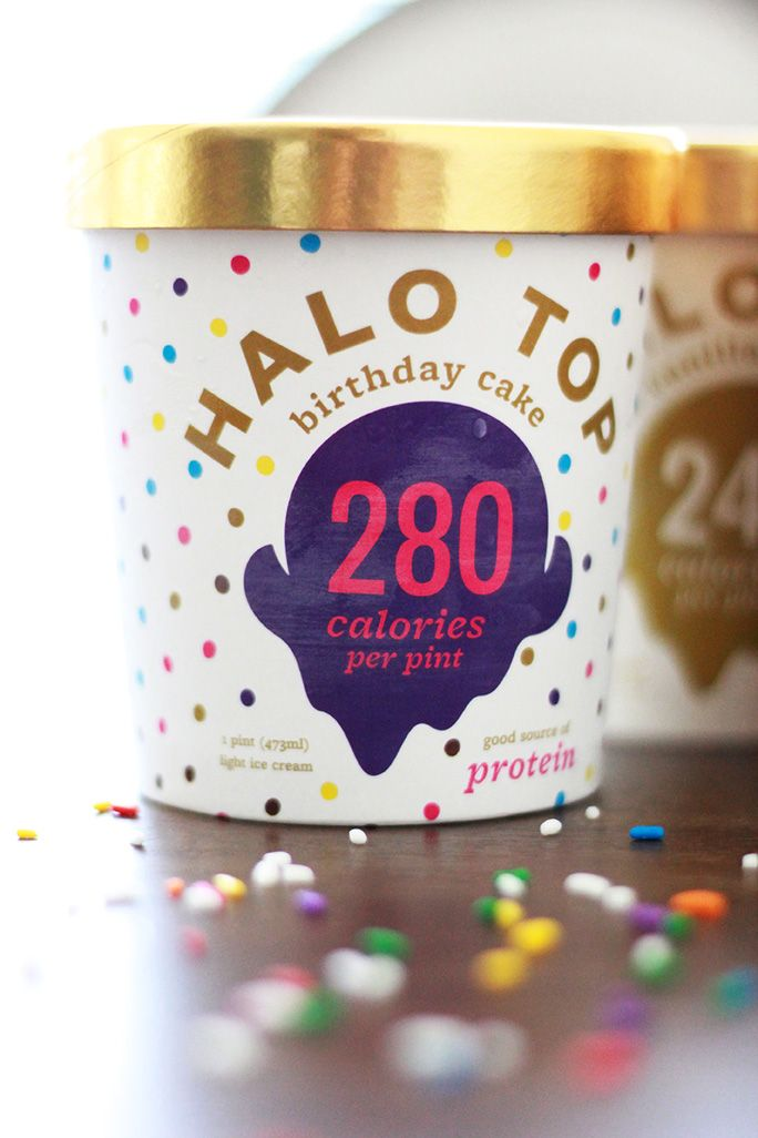 Meet Halo Top The Angelic Ice Cream With 250 280 Calories 25g Protein And 20g Fiber PER PINT Fitness Health Diet Nutrition