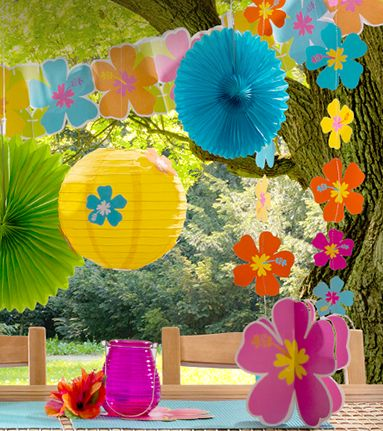 Summer Theme Party Decoration Ideas | Decoratingspecial.com