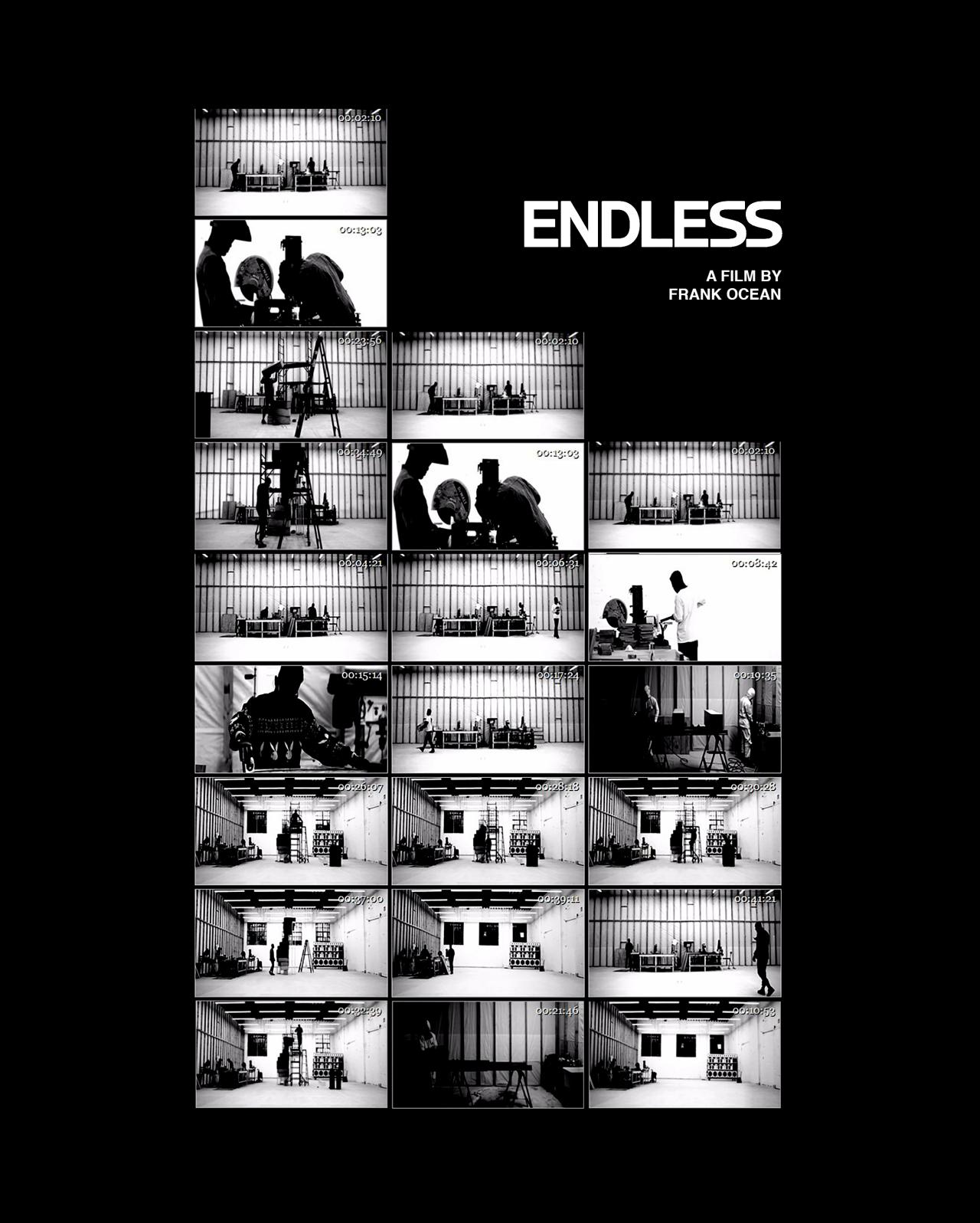 Frank Ocean Endless Poster 1 Frank Ocean Wallpaper Frank Ocean Boys Don T Cry