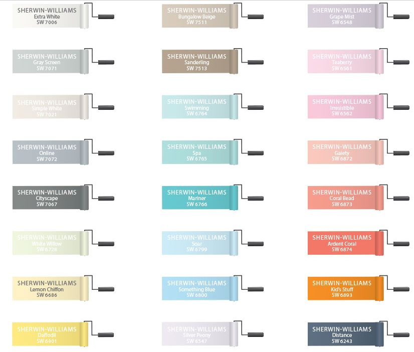 Sherwin Williams Grape Mist Or Silver Peony For The