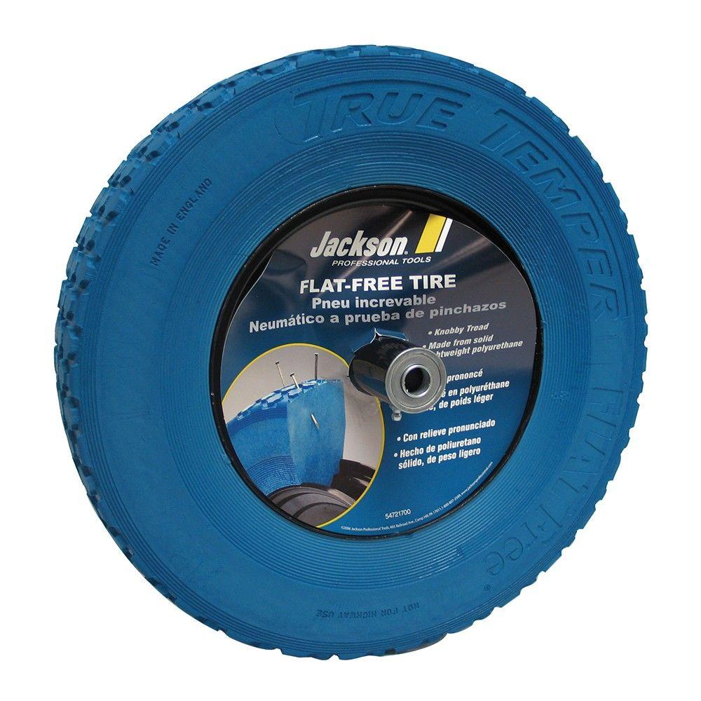 Flat Free Knobby Wheelbarrow Tire (With images