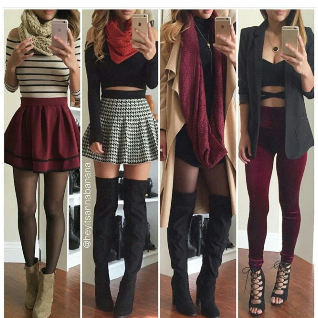 Pin by Βανέσα Βίλα on Clothes | Fashion outfits, Cool ...
