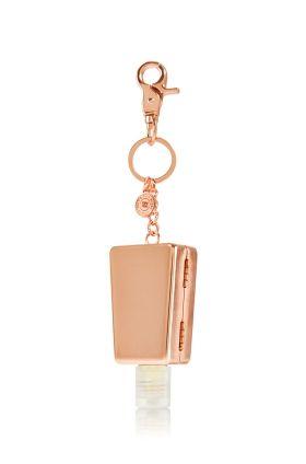 Rose Gold Metal Keychain Clip Designer Edition Pocketbac Holder