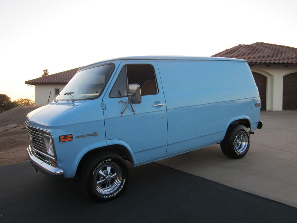 chevrolet g20 van shorty vans gm chevy van custom. Black Bedroom Furniture Sets. Home Design Ideas